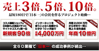 小さな会社を「日本一」に変える業績アップの秘密